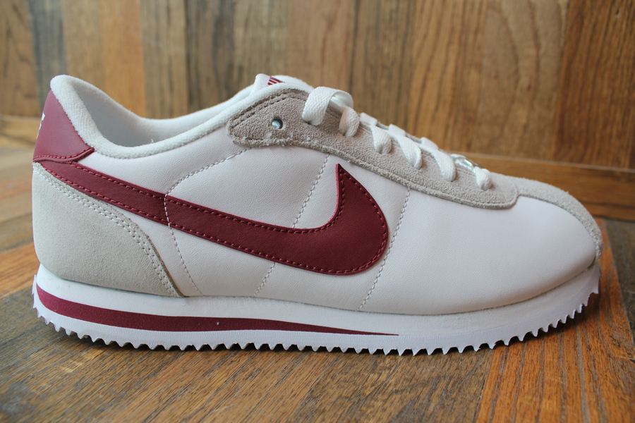 Nike Cortez Leather White Red