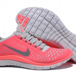 Cheap_Online_Nike_Free_Run_3.0_V4_Womens_Shoes_On_Sale_Pink_Grey