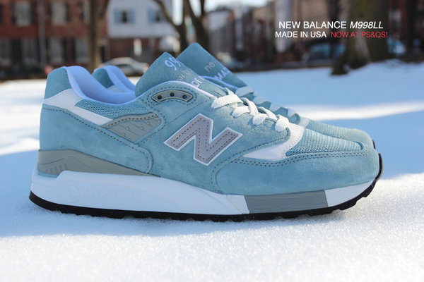 New Balance Light Blue 998