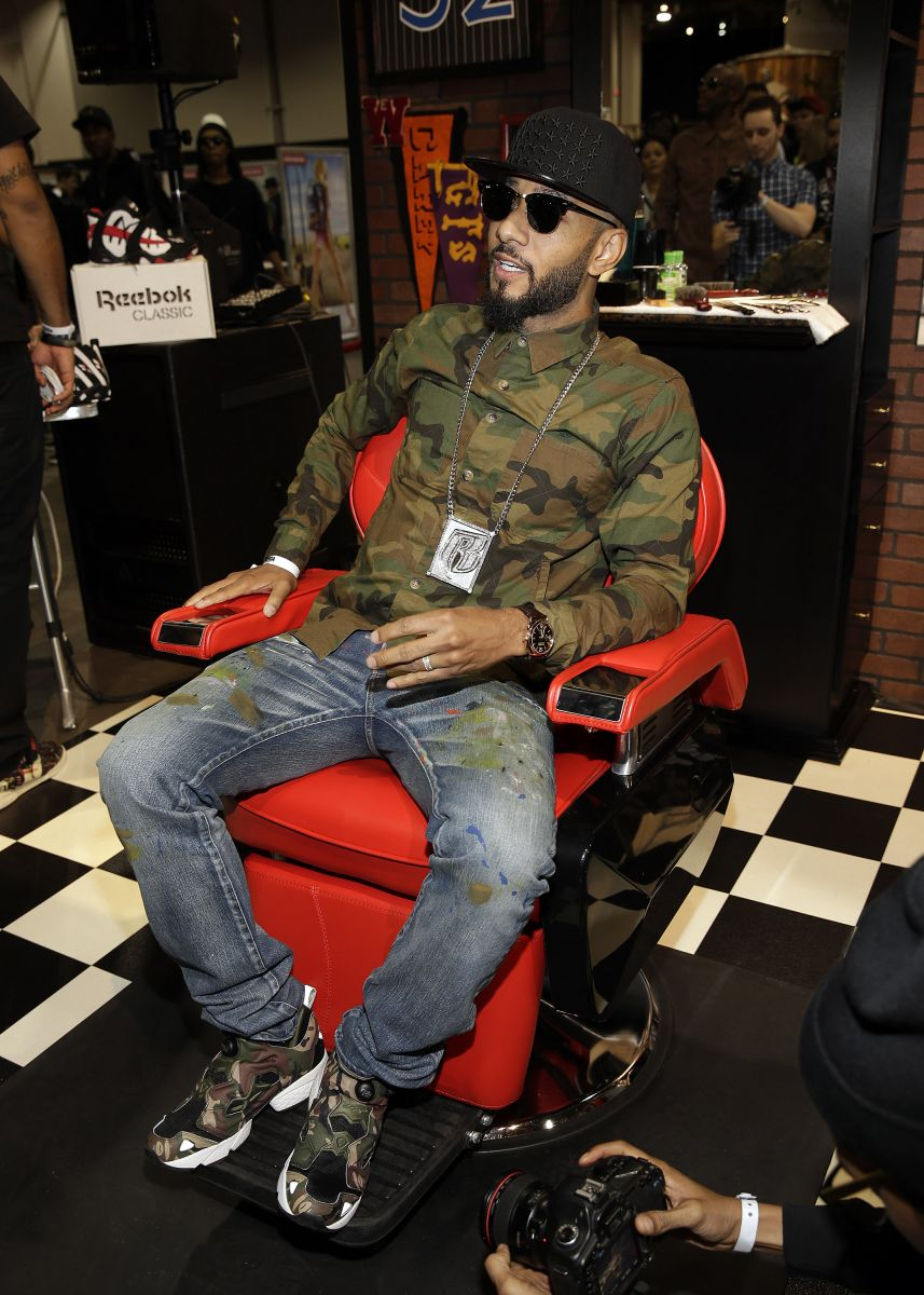 Swizz Beatz in the chair 2