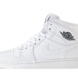 AIR-JORDAN-1-MID-WHITE-SIDEVIEW