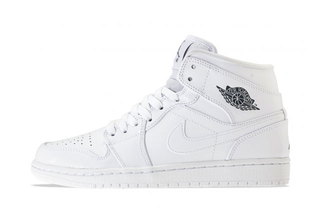 c502b1260083 Air Jordan 1 Mid – White