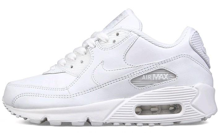 Nike Air Max 90 All White Womens